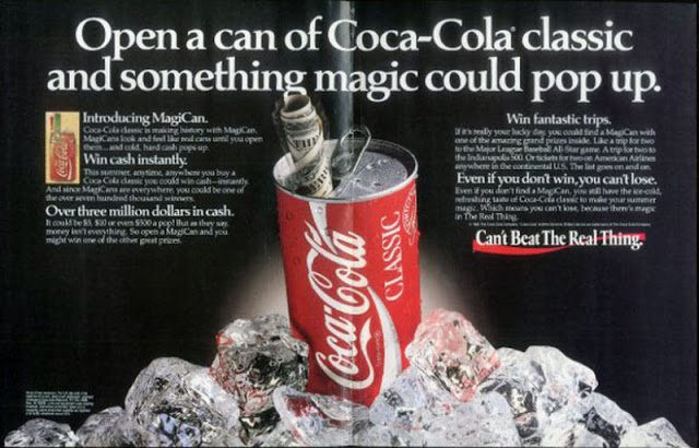 Coca Cola MagiCans