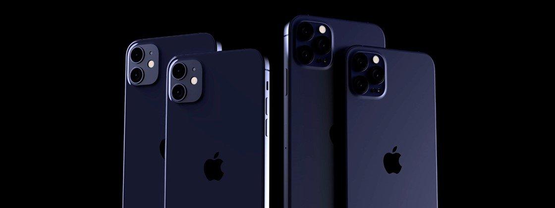 iphone 12 azul marinho