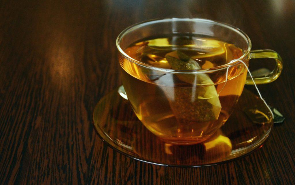 chá contra ressaca