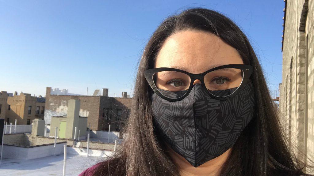 Ajuste a máscara corretamente