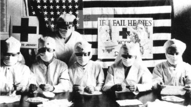 Gripe Espanhola Enfermeiras Estados Unidos