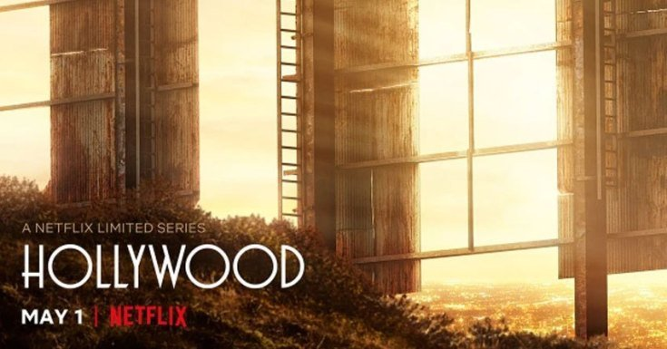 Poster série Hollywood Netflix