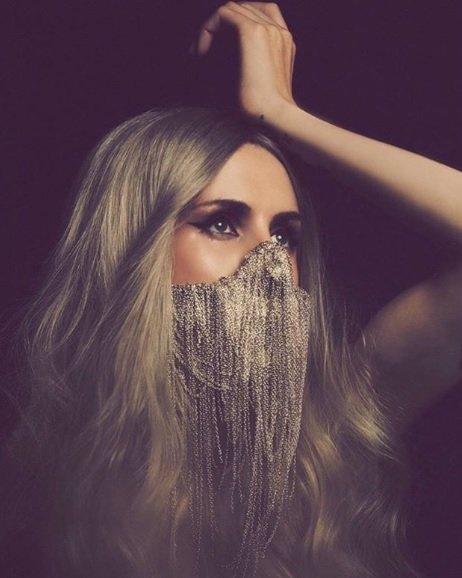 Máscara Brilhante