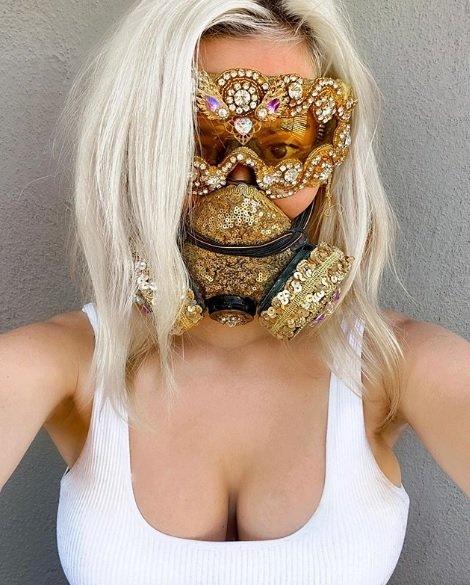 Máscara Brilho