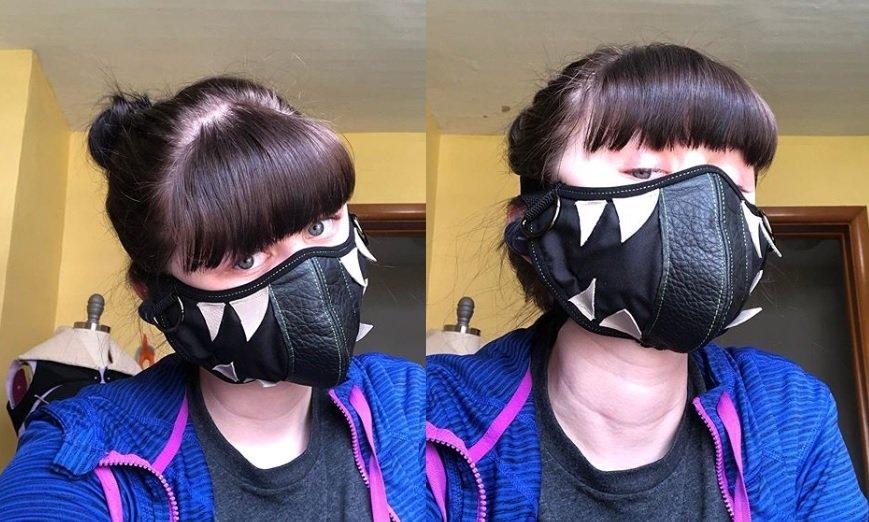 Máscara Couro