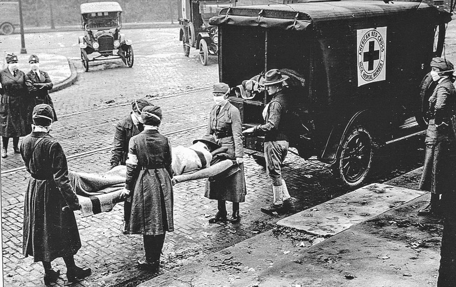 Ambulância Gripe Espanhola