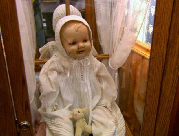 Fotografia real da boneca Mandy