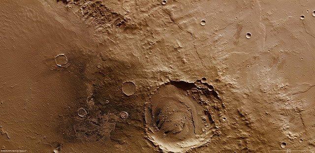 Cratera Schiaparelli Marte