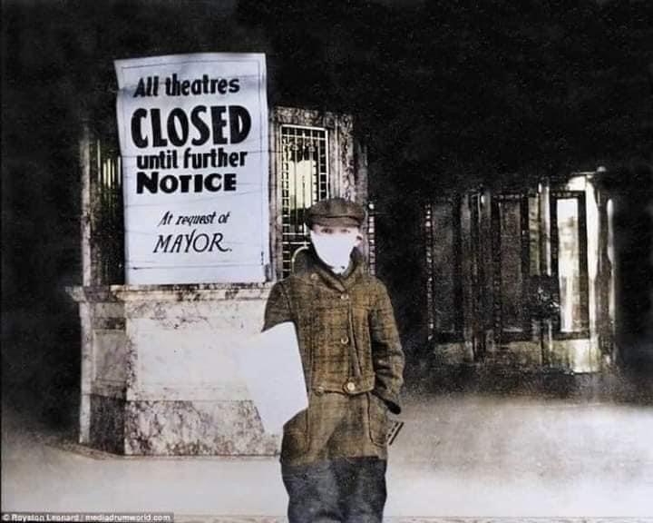 Teatros fechados na quarentena