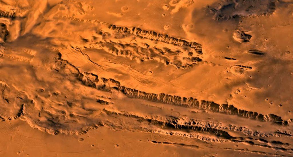 Valles Marineris Planeta Marte