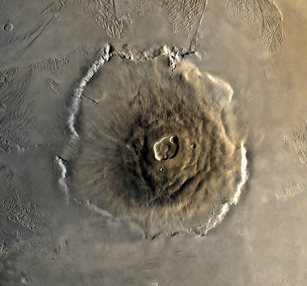 Vulcão Olympus Mons Marte
