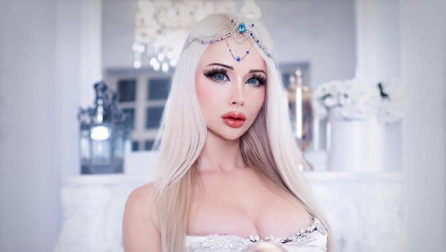 Barbie humana atualmente