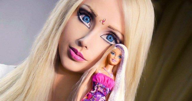 A transformação da Barbie humana