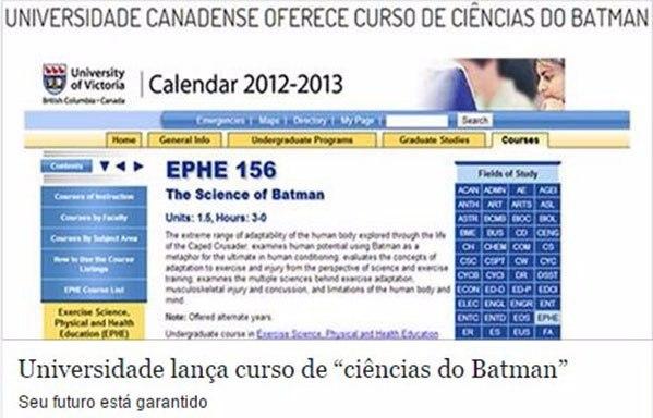 Ciência do Batman