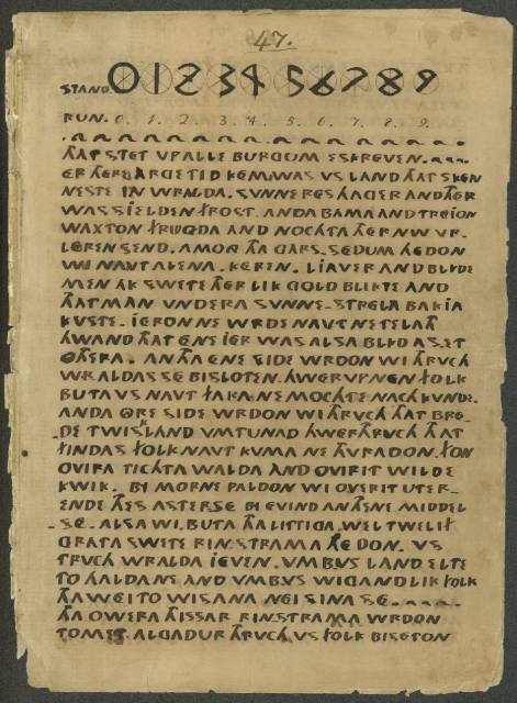 Manuscrito de Oera Linda