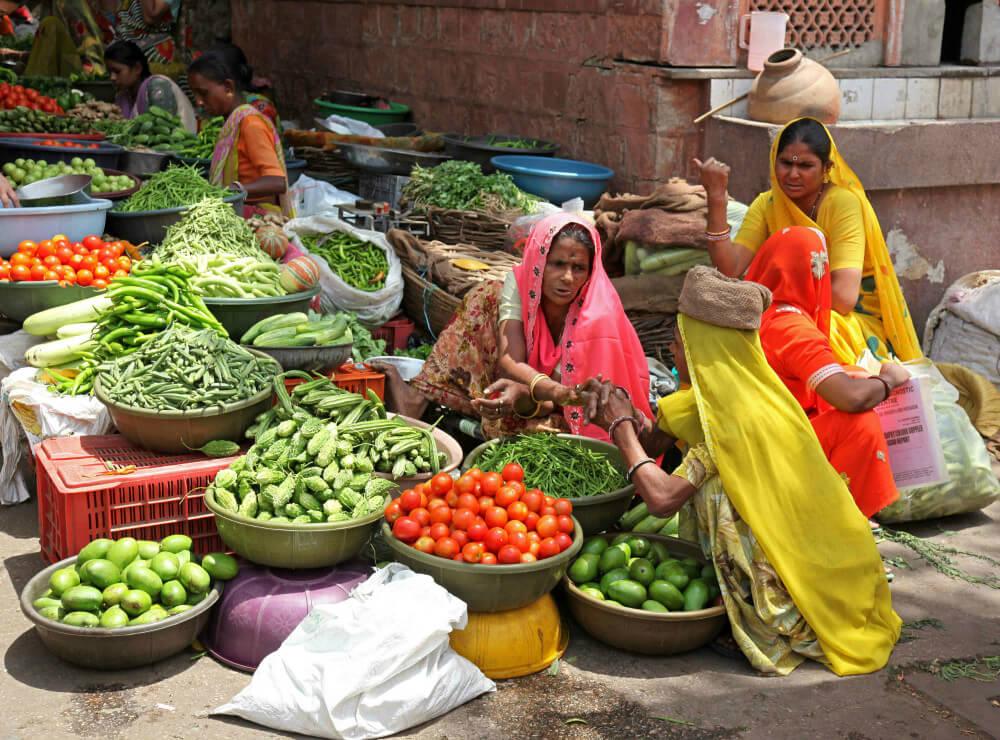 Vegetarianos na Índia