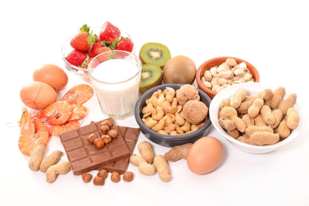 Alimentos sensibilizantes