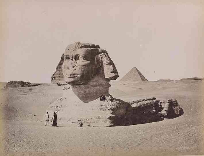 esfinge de gize 1880