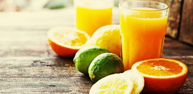 suco de laranja e limao