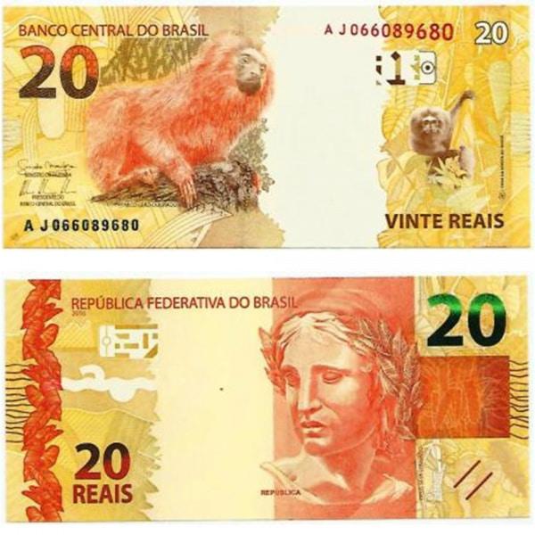 cédula de vinte reais de nova