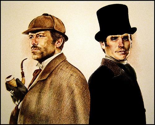Sherlock Holmes e Watson