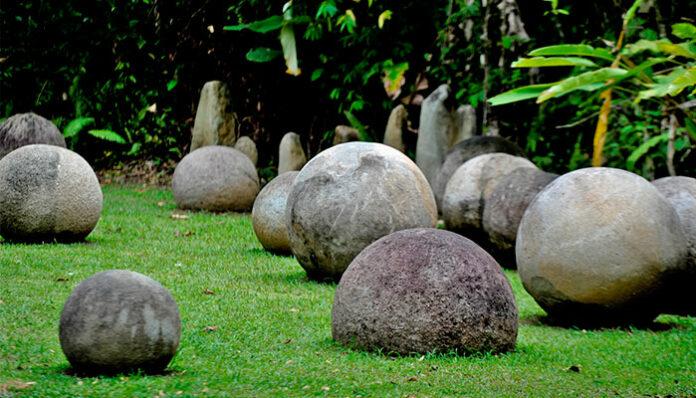 Esferas pedra