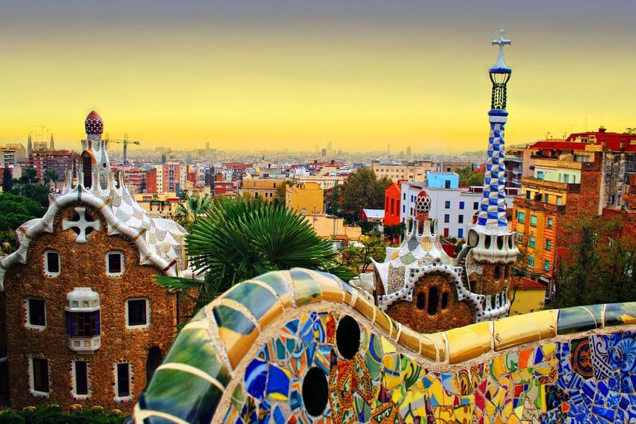 Park Guell Spain Photo