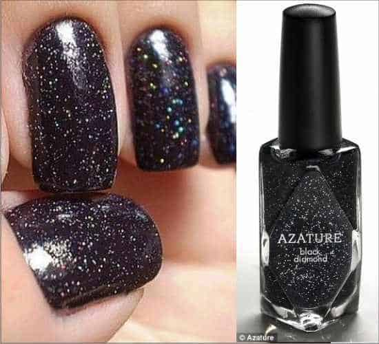 The Most Expensive Nail Polish Black Diamonds Azature