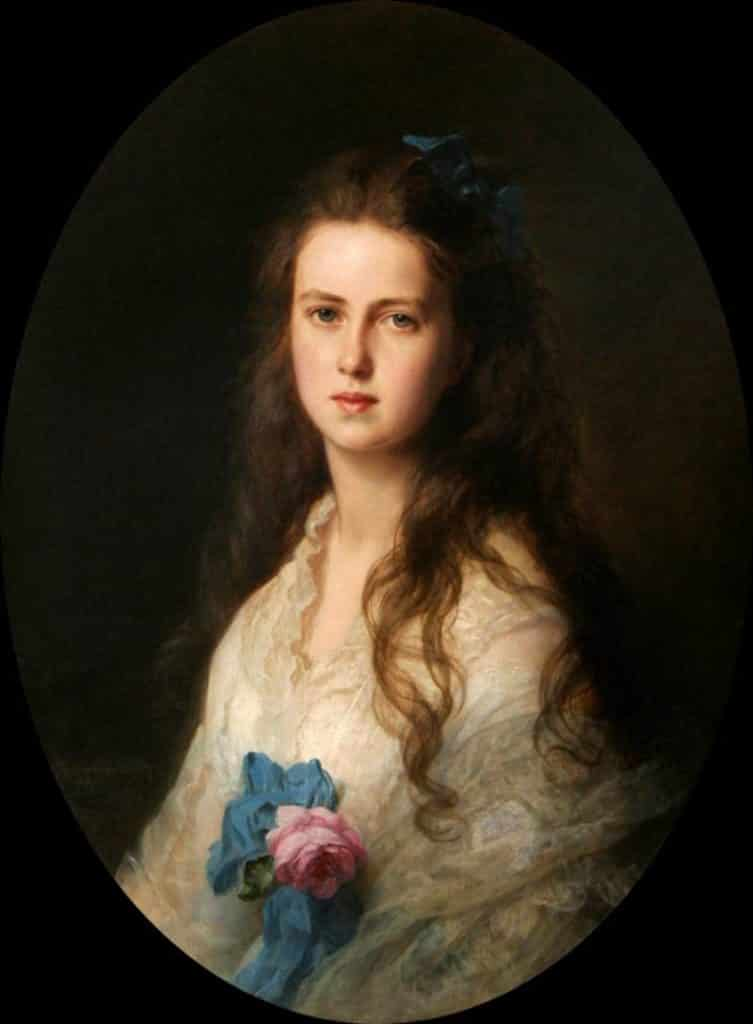 Grand Duchess Maria Alexandrovna of Russia 1853 1920 later Princess of Great Britain Ireland Duchess of Edinburgh Furstin von Sachsen Coburg und Gotha